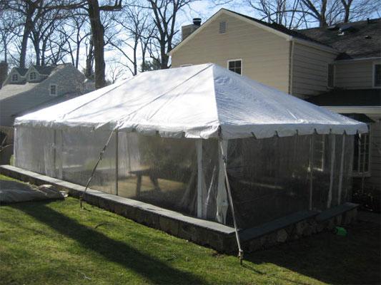 Tent - 10u0027 x 15u0027 - Deck Tent White Rentals Tent Rentals Party Rentals and Event Rentals of Warren Sussex Morris County NJ and Northern New Jersery & Tent - 10u0027 x 15u0027 - Deck Tent White Rentals Tent Rentals Party ...