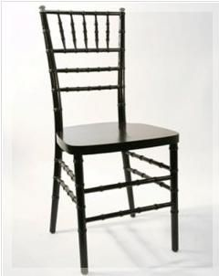 Chair - CHIAVARI BLACK BALLROOM Rental
