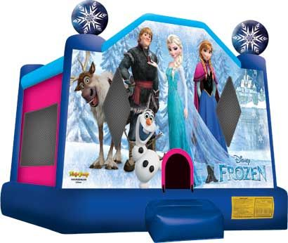 Inflatable - Frozen Themed Bounce House Rental