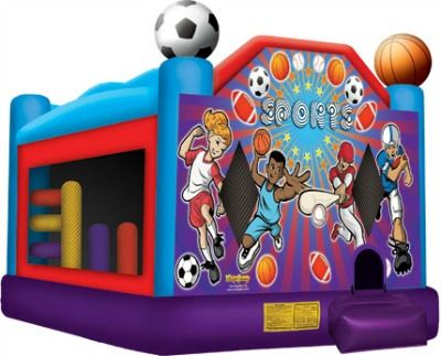 Inflatable - Sports USA Bounce House Rental