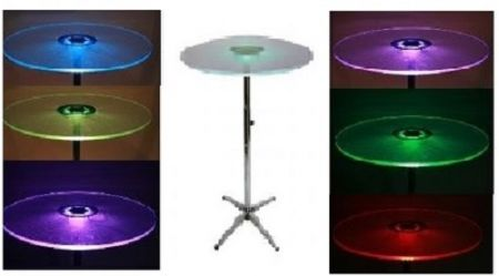 Images of LED Pedestal Table Rentals, Party & Tent Rentals of Morris County, Northern NJ