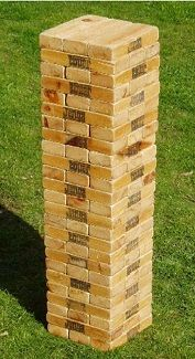 Game - Outdoor Jenga Rental