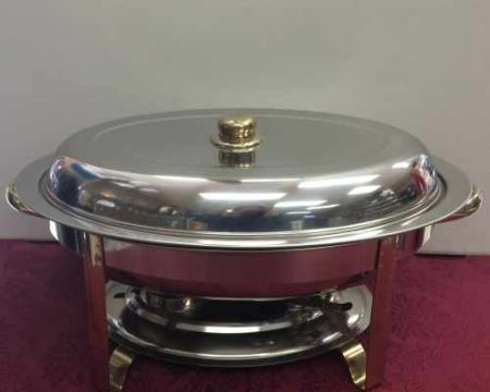 Images of Chafing Dish, Stainless, 6 Qt. Rentals, Party & Tent Rentals of Morris County, Northern NJ