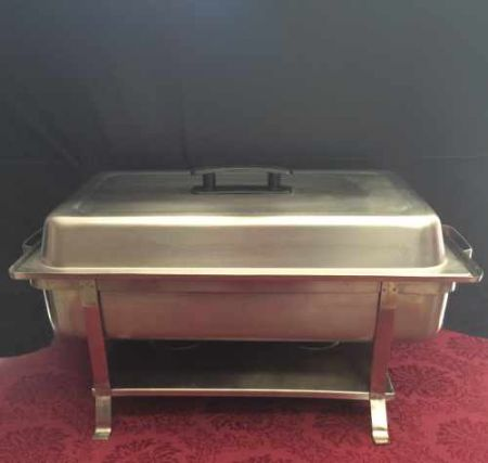 Images of Chafing Dish, Stainless, 8 Qt. Rentals, Party & Tent Rentals of Morris County, Northern NJ