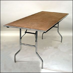 Table - Rectangle, 6' x 30