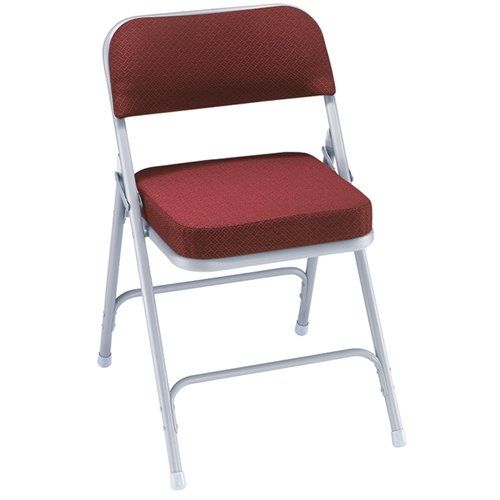 Chair - Folding Padded Burgundy Rental