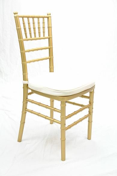 Chair - Chiavari Gold Ballroom Rental