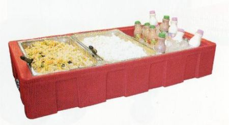 Server - Food Bar  Rental