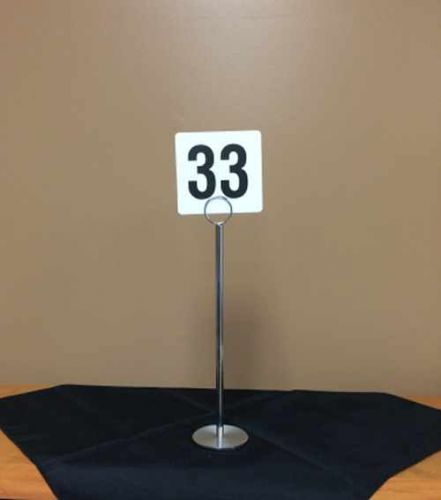 Images of Table Number Holder Rentals, Party & Tent Rentals of Morris County, Northern NJ