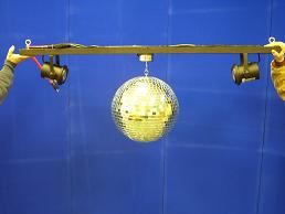 Special Effect - Mirror Ball Large, Complete Assembly Rental