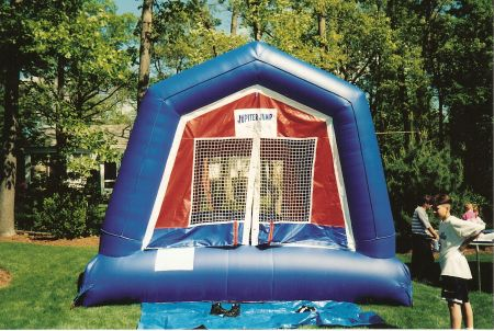 Carnival Game - Bounce House, 15' Wx 15' L X 16' H Rental