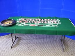 Game - Roulette Wheel Layout Rental