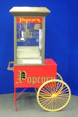 Picnics & Fun Party - Popcorn Wagon Rental