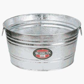 Picnics & Fun Party - Tubs, Galvanized Rental