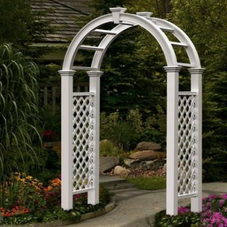 Showers & Wedding - Arch, Large White Rental