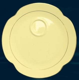China & Dinnerware - Diplomat Snack Plate Rental