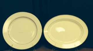 China & Dinnerware - Diplomat Serving Platter Rental
