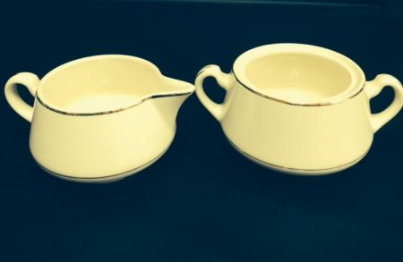 China & Dinnerware - Diplomat Sugar & Creamer Rental