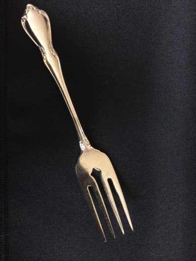 Flatware - Stainless Fork, Dessert Rental