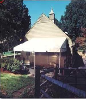 Tent - 10' x 23' - Deck Tent, White Rental