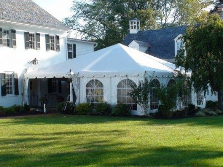 Tent - 30' x 30' Frame Tent Rental