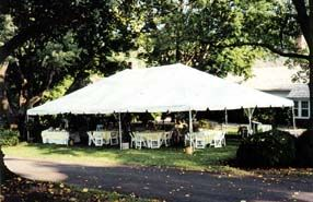 Tent - 30' X 45' Frame Tent Rental