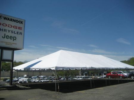 Tent - 30' x 50' Frame Tent Rental