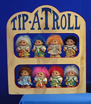Carnival Game - Tip A Troll Rental