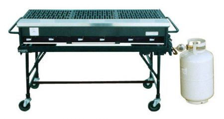 Picnics & Fun Party - Grill, Propane 2' x 6' Rental