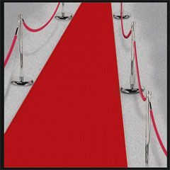 Conferences & Meeting - Red Carpet, 3' x 24' Rental