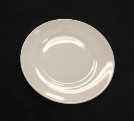 China & Dinnerware - Cafe White Bread & Butter Plate Rental
