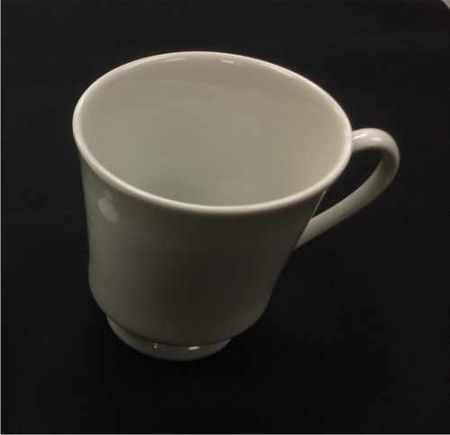 China & Dinnerware - Cafe White Coffee Cup Rental