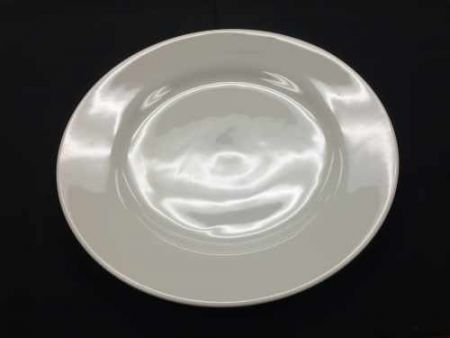 China & Dinnerware - Cafe White Dinner Plate Rental