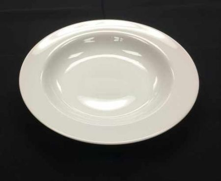 China & Dinnerware - Cafe White Soup Bowl Rental