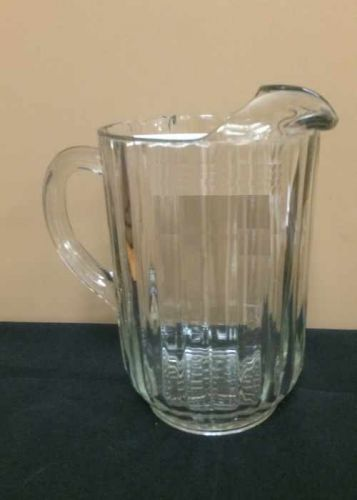 Glassware - Pitcher, Glass Rental