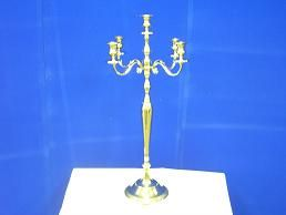 Candles & Holder - Candelabra, Four or Five Light Rental