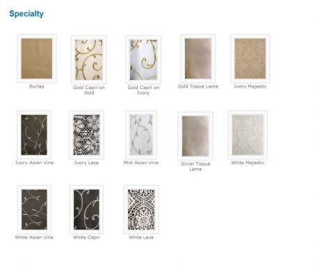 Linen - Tissue Lame Sash Rental
