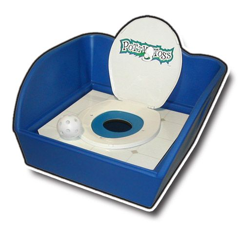 Carnival Game - Potty Toss Rental