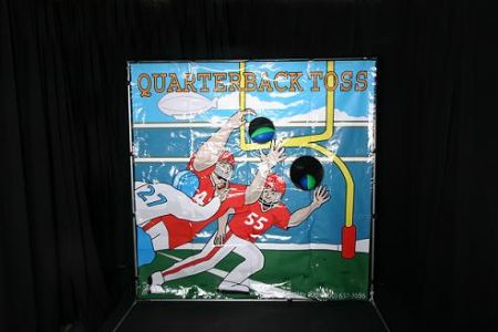 Carnival Game - Football Toss Rental