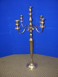 Images of Candelabra 5' tall with 5 lights Rentals, Party & Tent Rentals of Morris County, Northern NJ
