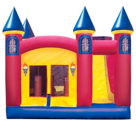 Picnics & Fun Party - Bounce House, Castle, 18' W x 15' L x 17'H Rental