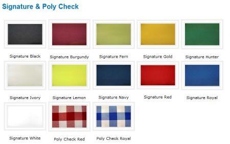Linen - Poly Check 120