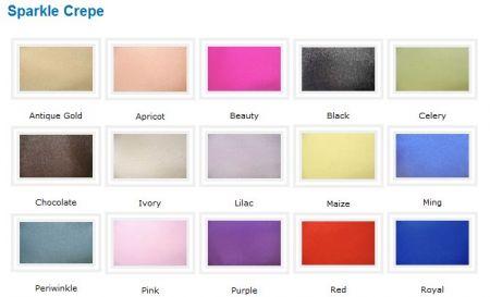 Linen - Sparkle Organza Sash Rental