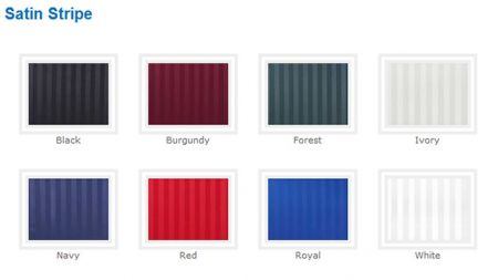 Linen - Satin Stripe Napkin Rental
