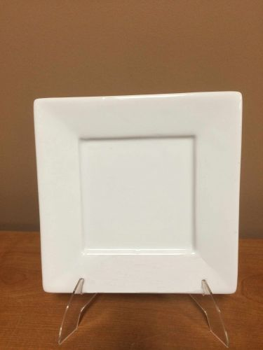 China & Dinnerware - Square White Bread & Butter Plate Rental