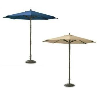 Table - Umbrella, Market 9' Rental