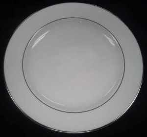 Images of Platinum Trim Dinner Plate Rentals, Party & Tent Rentals of Morris County, Northern NJ