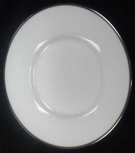 China & Dinnerware - Platinum Trim Saucer Rental