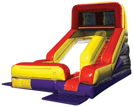 Inflatable - Summer Splash Wet/Dry Slide 13'W X 23'L X 14'H Rental