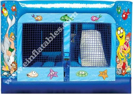 Images of 3 in 1 Mini Combo Bounce House Rentals, Party & Tent Rentals of Morris County, Northern NJ